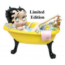 Betty Boop in Yellow Bath Tub