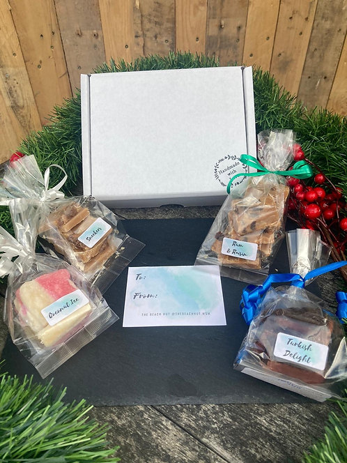 Fudge Gift Box with 4 Flavours