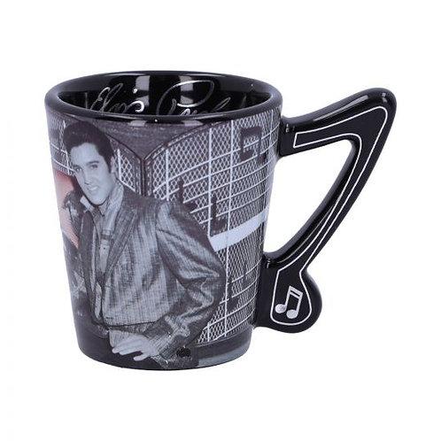 Elvis Presley with Pink Cadillac Espresso Cup