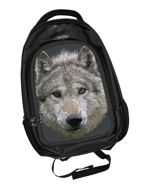 Wolf Stare Backpack 3D Lenticular