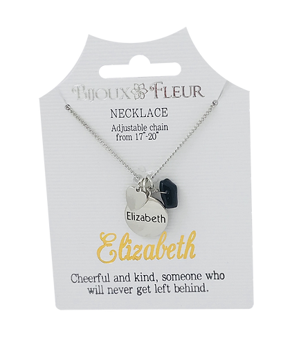 Names with letter E Personalised Necklaces