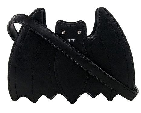 Gothic Black Bat Shoulder Bag