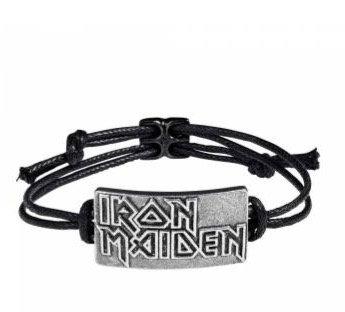 Iron Maiden Logo Bracelet