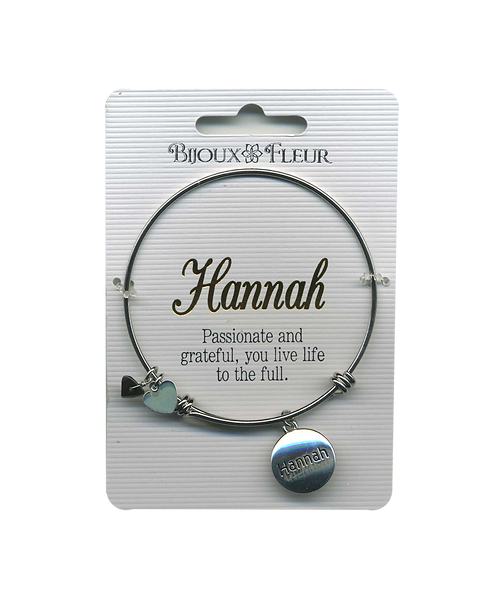 Names with H Personalised Bangles