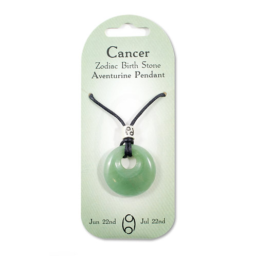 Cancer, Zodiac Birth Stone, Necklace / Bracelet / Keyring (Aventurine)