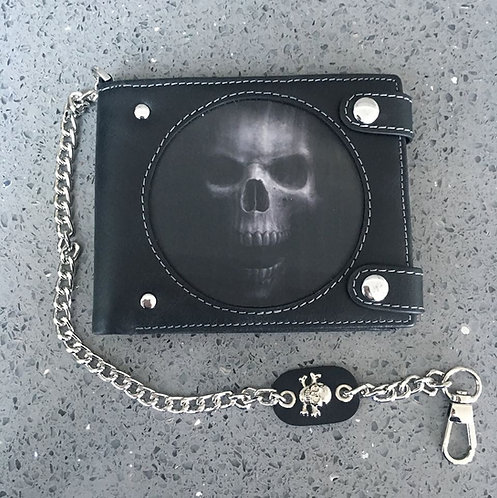 Anne Stokes Bad To The Bone 'The Watcher' Wallet - 3D Lenticular
