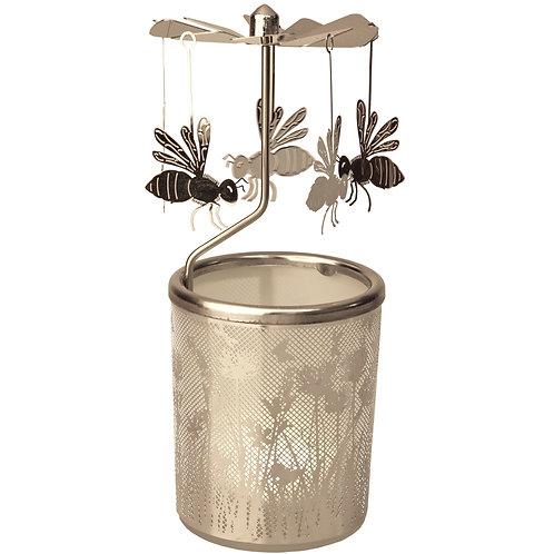 Bee Tea-light Carousel