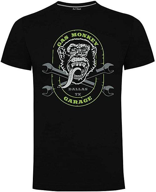 "Gas Monkey ""cross spanners T-shirt"