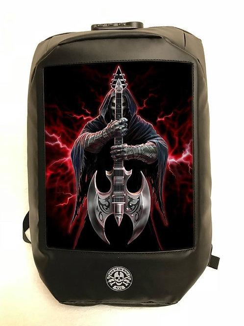 Anne Stokes Bad To The Bone 'Rock God' Backpack - 3D Lenticular