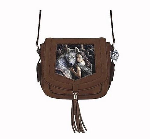 Soul Bond 3D Lenticular Bag by Anne Stokes