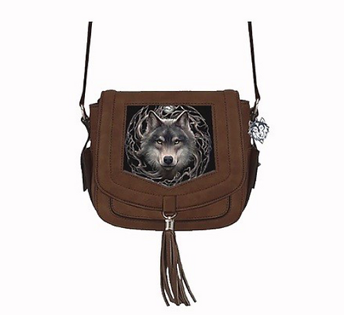 Night Forest 3D Lenticular Bag by Anne Stokes