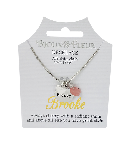 Names with B Personalised Necklaces