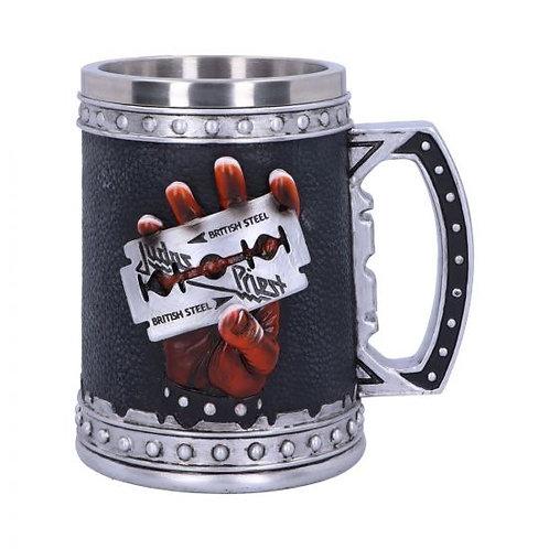 Judas Priest British Steel Album Tankard Mug