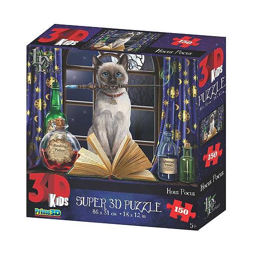 Lisa Parker 150 Piece 3D Jigsaw Puzzle Hocus Pocus