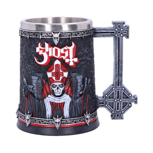 Licensed Ghost Papa Emeritus III Red Tankard