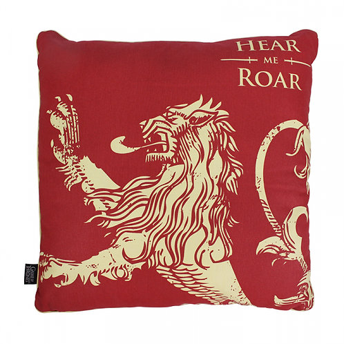 Game of Thrones Filled Cushion - Lannister