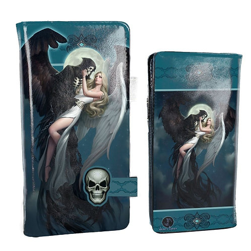 Angle and the Reaper Embossed Purse