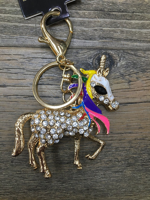 Unicorn Keyring/ Bag Charm