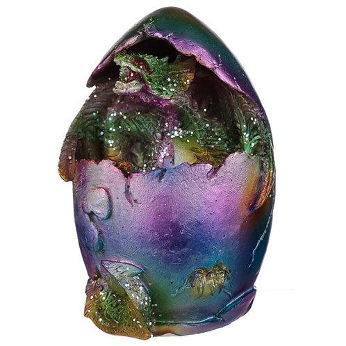 Rainbow Dragon Metallic Hatching Egg