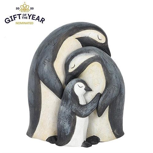 Penguin Family Ornament