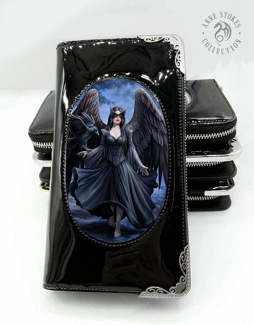 Raven 3D Lenticular Purse By Anne Stokes