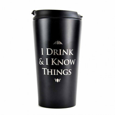 Game of Thrones Travel Mug - I drink and Know Things