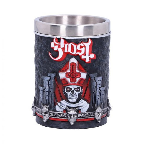Licensed Ghost Papa Emeritus III Red Shot Glass
