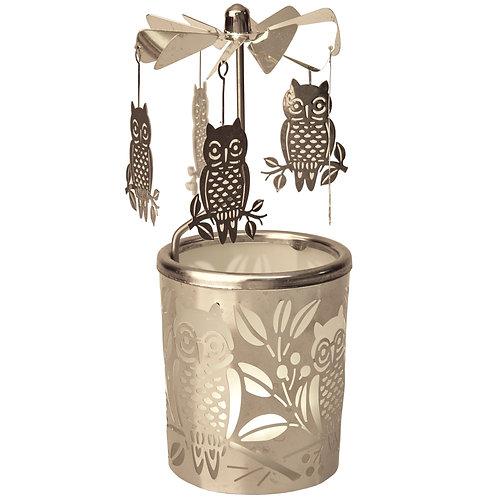 Owl Tea-light Carousel
