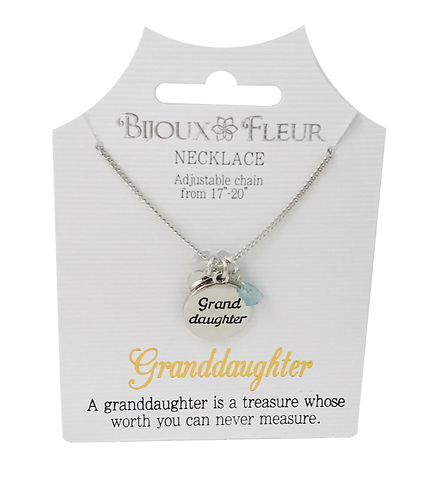 Granddaughter Personalised Necklace