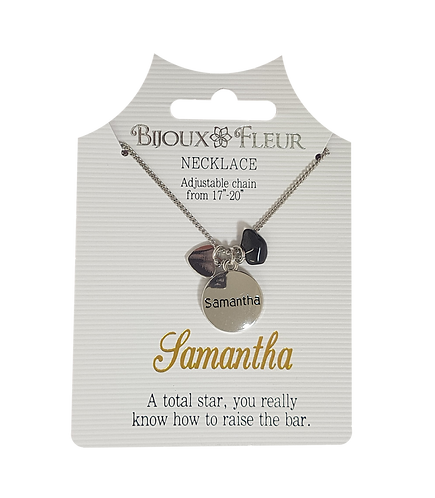 Names with S Personalised Necklace