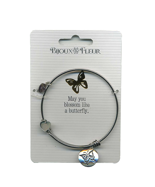 Butterfly Personalised Bangle