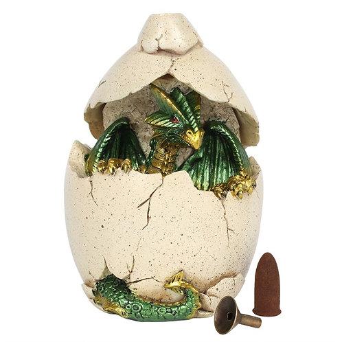 Green Dragon Egg Backflow Burner