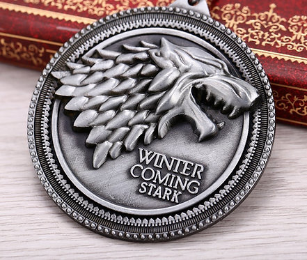 Winter is Coming Pendant