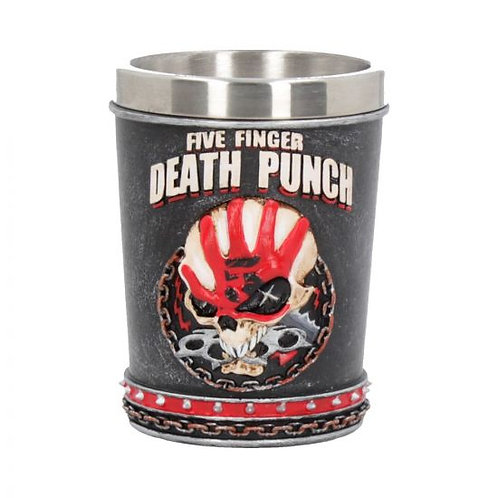 Five Finger Death Punch Shot Glass