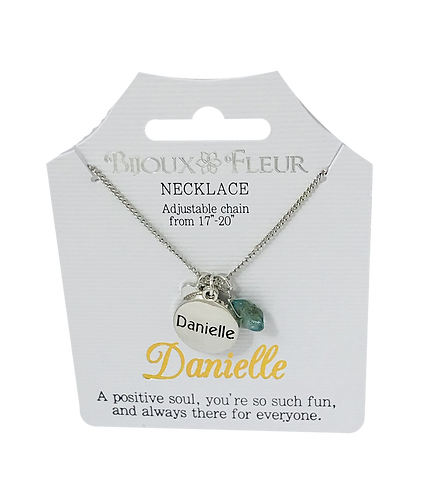 Names with D Personalised Necklaces
