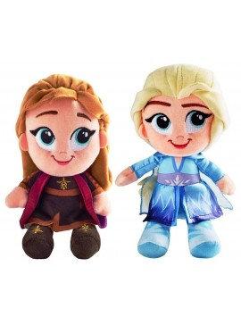Anna and Elsa Soft Plush Toy