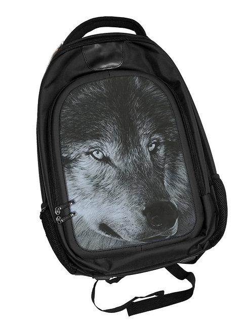 Dark Wolf Backpack 3D Lenticular