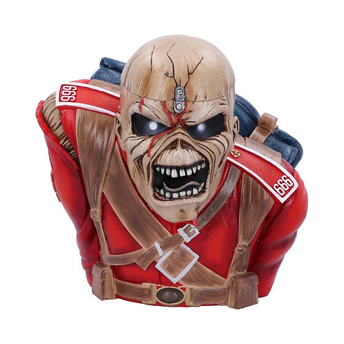 Iron Maiden The Trooper Bust Box