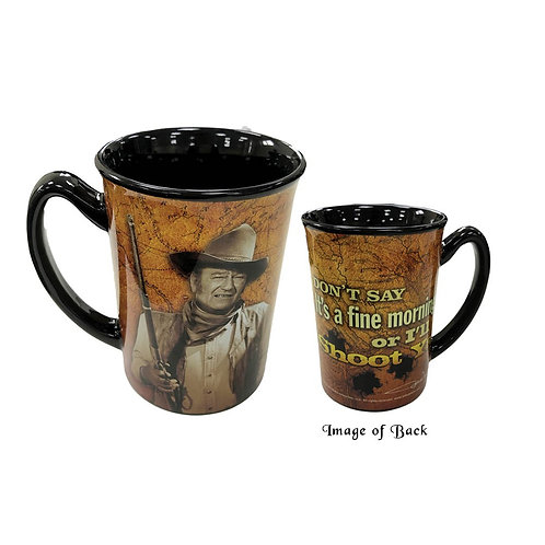 John Wayne Mug 'I'll Shoot ya'