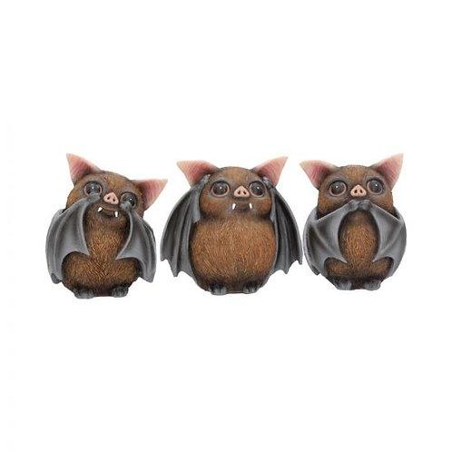 Three Wise Bats