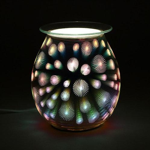 3D Starburst Light Up Electrical Oil Burner