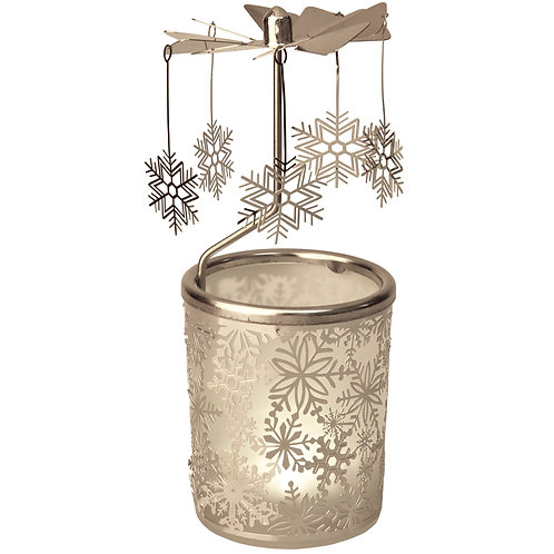 Snow Flake Tea-light Carousels