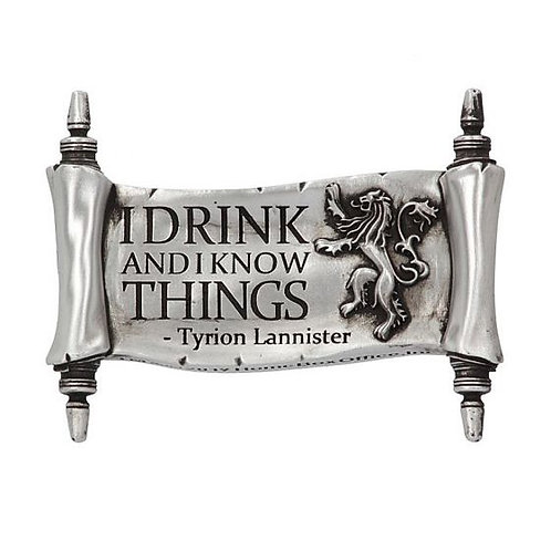 Game Of Thrones I Drink and I Know Things Magnet