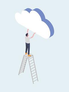 Cabeça nas nuvens?