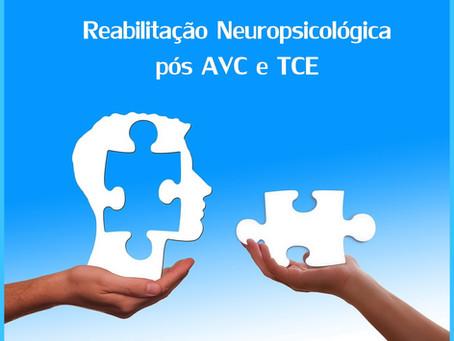 Reabilitação pós AVC e TCE