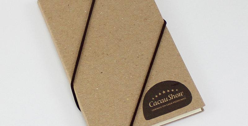 Caderneta de Bolso - Kraft - Personalizada