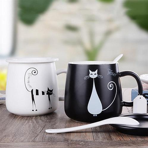 Creative Cat Ceramic Mug