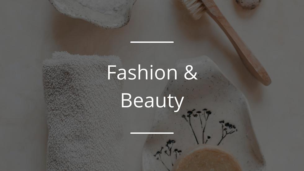 The Fashion & Beauty Award