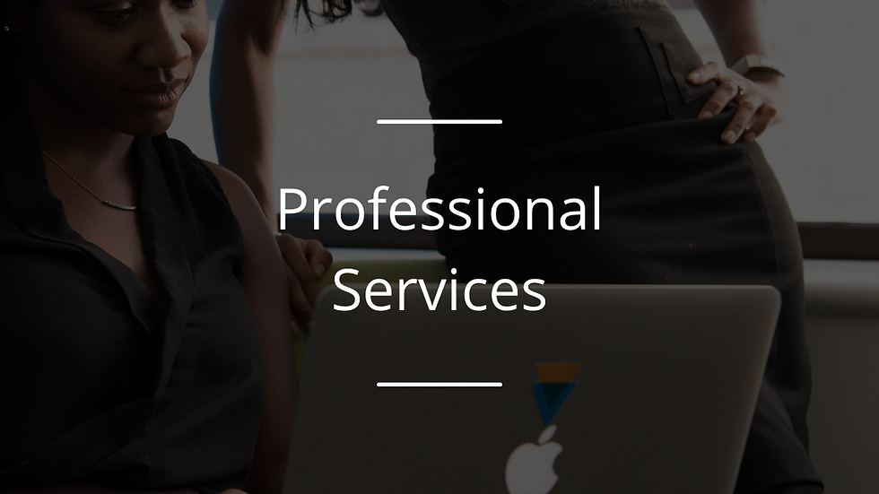 The Trusted Partner Award : Professional Services