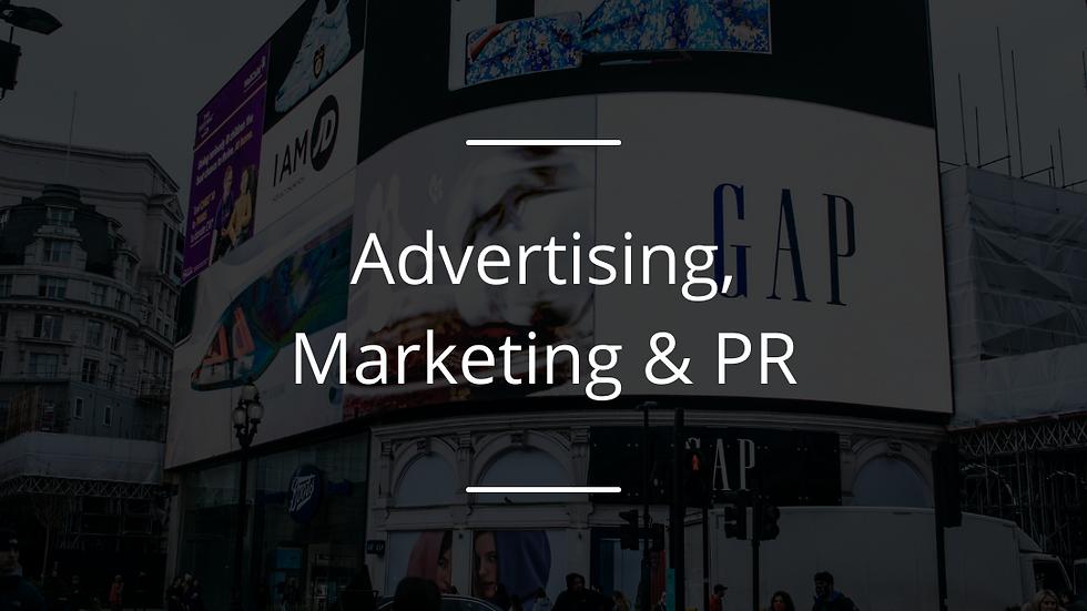 The Influence Award : Advertising, Marketing & PR